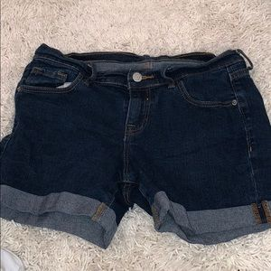 Old navy dark wash denim shorts